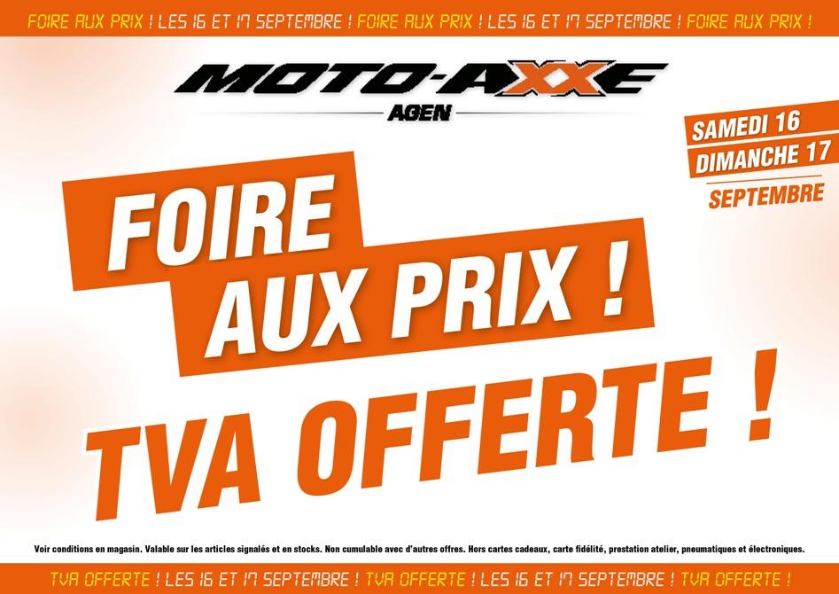Foire Aux Prix Samedi 16 Et Dimanche 17 Tva Offerte Fete De La