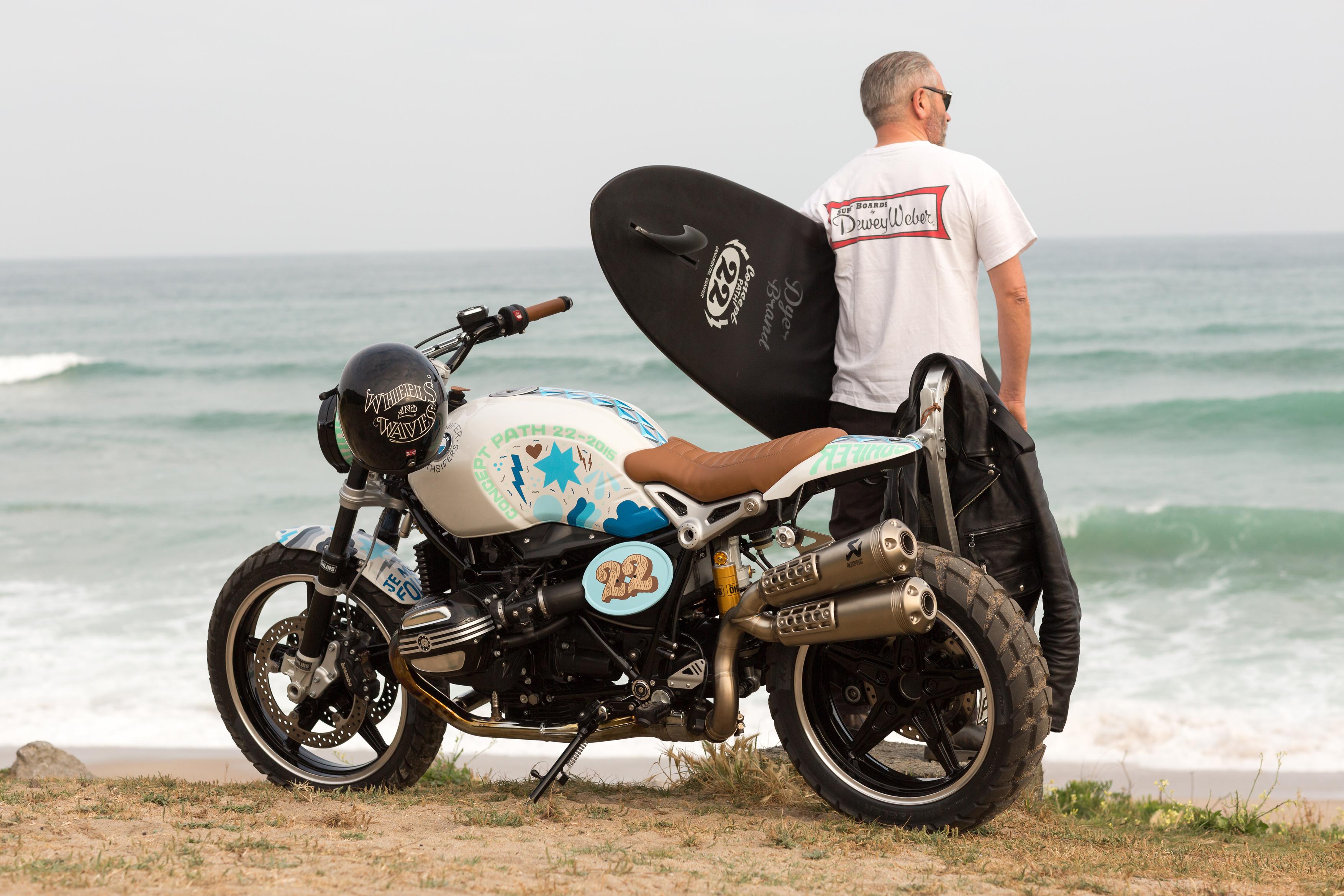 Actu Moto Challenge One Agen Scrambler Bmw Concept