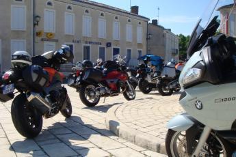 sortie moto arcachon challenge one agen
