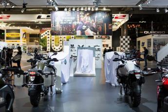 MILAN 2014  BMW Motorrad FRANCE CHALLENGE ONE