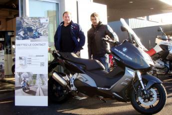 bmw c 600 sport challenge one mathieu barrau bmw motorrad france aquitaine