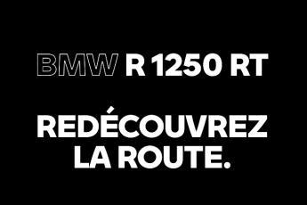 Redécouvrez la route avec la R 1250 RT !