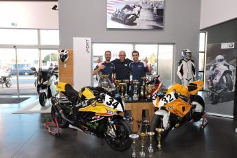 CHALLENGE ONE BRUNET LUGARDON EUROPEAN BIKE RACE BMW 2015 MOTORSPORT