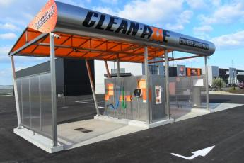 station de lavage moto & auto CLEAN AXXE POLE MOTO CHALLENGE ONE AGEN