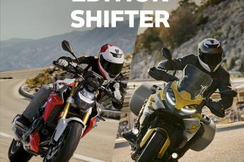 F 900 R et F 900 XR Shifter Edition !