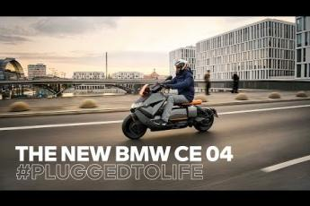 The new BMW CE 04 – Powerful and Energetic