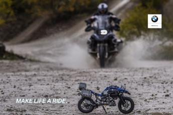 BEYOND BORDERS - The BMW Motorrad LEGO bike