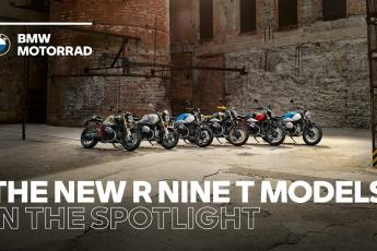 IN THE SPOTLIGHT: The New BMW R nineT Models