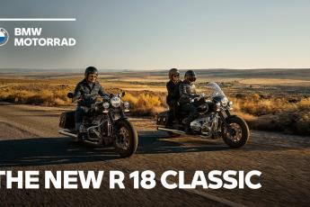The new BMW R 18 Classic