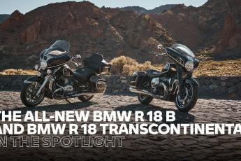 IN THE SPOTLIGHT: the new BMW R 18 B and BMW R 18 Transcontinental – Pure #SoulFuel