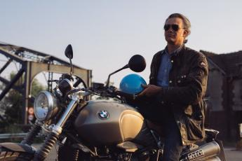 Roberto Parodi and the R nineT Scrambler