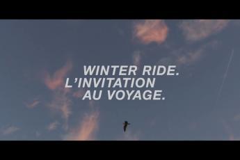 WinterRide : une invitation au voyage.