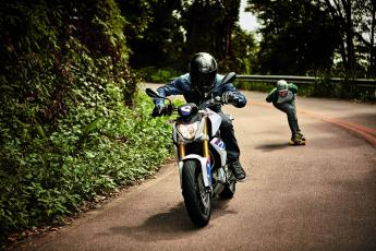 Challenge the city - The new BMW G 310 R