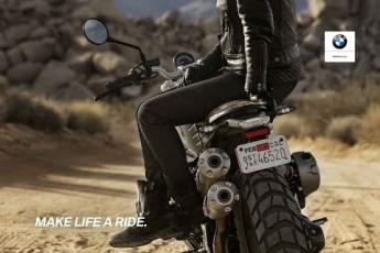 Follow your instinct - The new R nineT Scrambler.