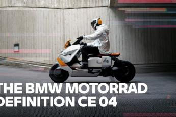 The new BMW Motorrad Definition CE 04
