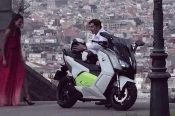 BMW C evolution - Le scooter 100% électrique
