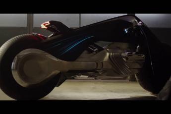 The BMW Motorrad VISION NEXT 100