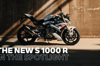 IN THE SPOTLIGHT: The new BMW S 1000 R