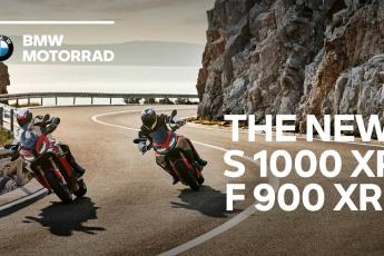 #NeverStopChallenging - The new BMW S 1000 XR and BMW F 900 XR.
