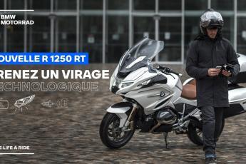 Nouvelle BMW R 1250 RT. Prenez un virage technologique !