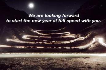 Christmas ride: Across the Alps with seasonal horsepower