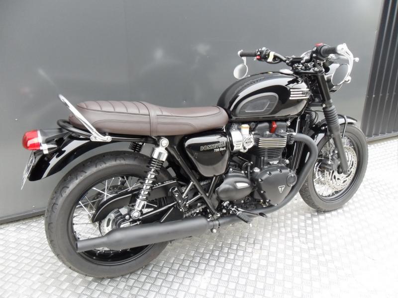 motos d 39 occasion challenge one agen triumph bonneville t120 black 2016 accessoires. Black Bedroom Furniture Sets. Home Design Ideas