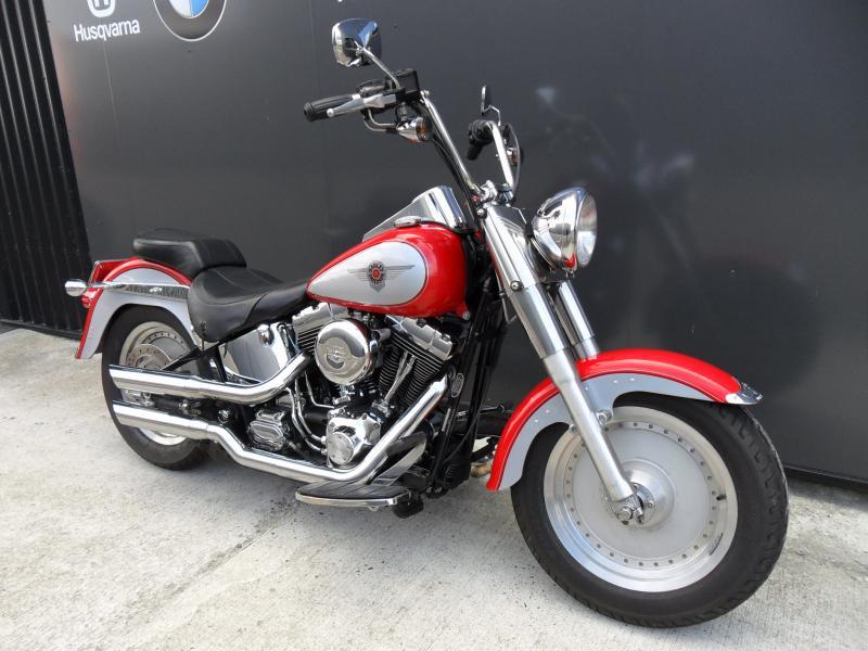 motos d 39 occasion challenge one agen harley davidson fat boy 1450 carbu 2002 accessoires. Black Bedroom Furniture Sets. Home Design Ideas