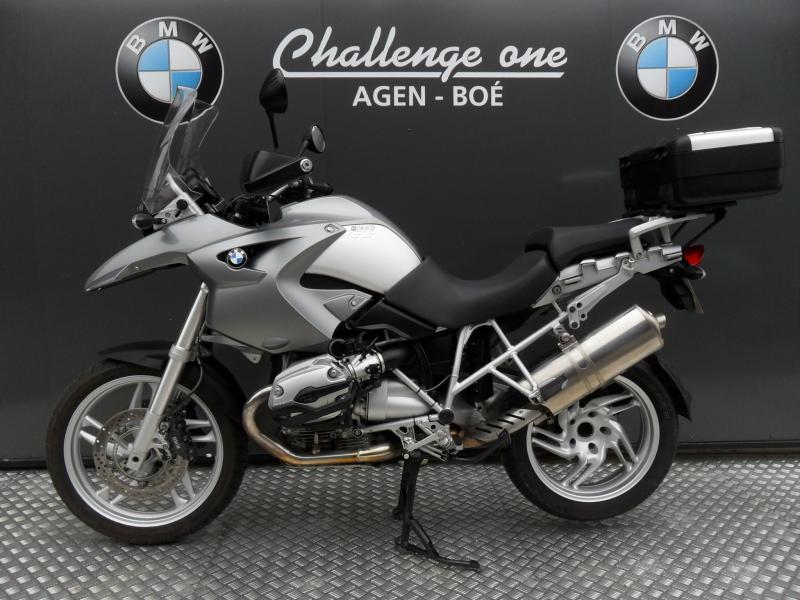 motos d 39 occasion challenge one agen bmw 1200 gs abs 2006 top case. Black Bedroom Furniture Sets. Home Design Ideas