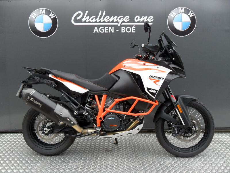 motos d 39 occasion challenge one agen ktm 1290 super adventure r 2017 silencieux akrapovic. Black Bedroom Furniture Sets. Home Design Ideas