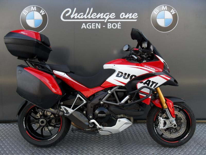 motos d 39 occasion challenge one agen ducati 1200 multistrada s touring 2012. Black Bedroom Furniture Sets. Home Design Ideas