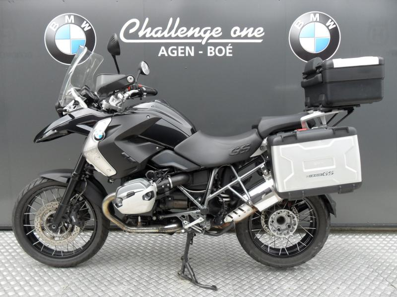 motos d 39 occasion challenge one agen bmw 1200 gs triple black pack bagagerie. Black Bedroom Furniture Sets. Home Design Ideas
