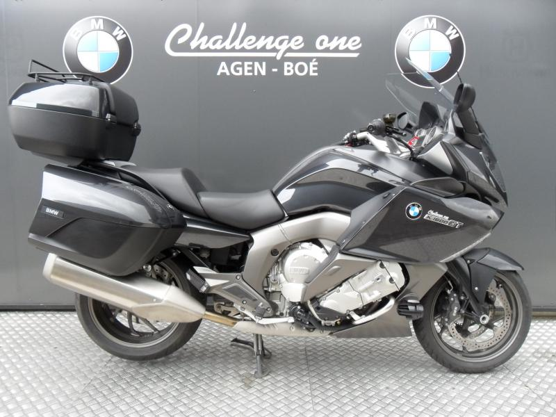motos d 39 occasion challenge one agen bmw k 1600 gt pack audio 2014 top case. Black Bedroom Furniture Sets. Home Design Ideas