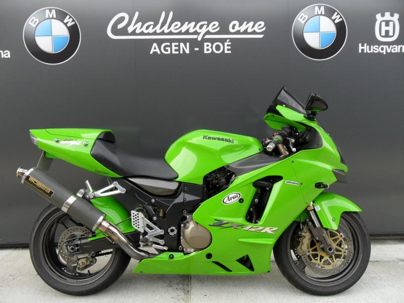 motos d 39 occasion challenge one agen kawasaki zx 12 r 2004. Black Bedroom Furniture Sets. Home Design Ideas